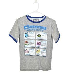 Disney Store Gray Monsters University T-Shirt